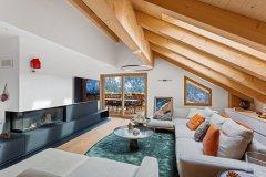 Le Montagnier Living Area