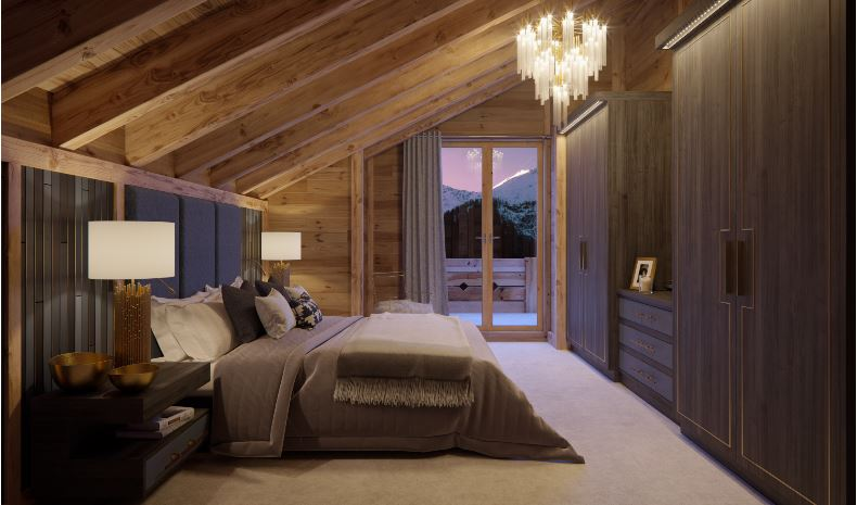 Les Rahâs Bedroom