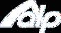 White AlpLifestyle Logo