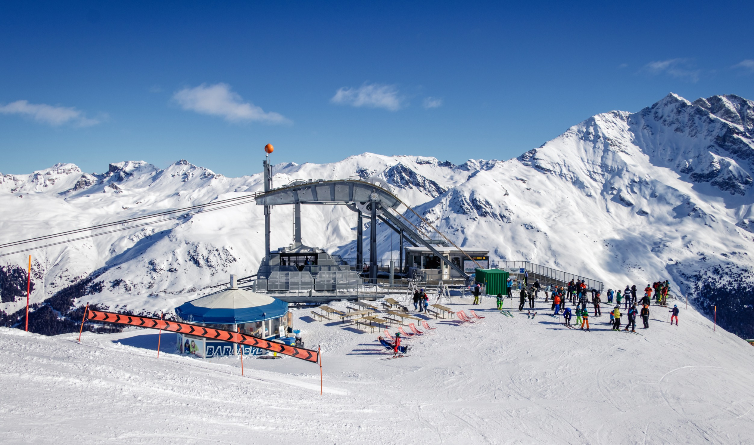 Grimentz Skiing