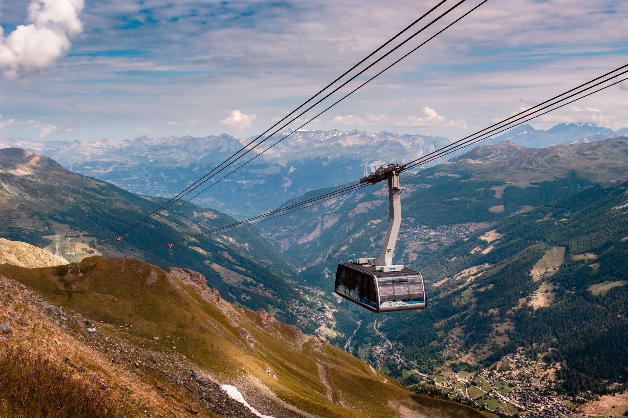 Ski Lift Grimentz